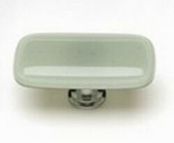 Sietto Glass Rectangular Cabinet Knob Intrinsic Spruce Green