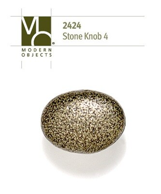 Modern Objects Designer Hardware Stone 4 Cabinet Knob