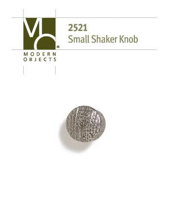 Modern Objects Designer Hardware Industrial Small Shaker Cabinet Knob