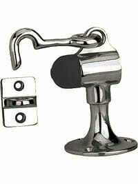Von Morris Hardware Commercial Upright Floor Door Stop with Holder