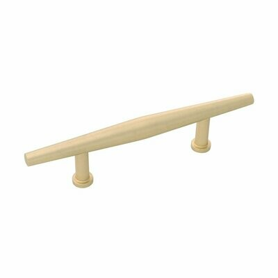 Belwith-Keeler Cabinet Hardware  Wexler Collection Pull 3 Inch Center to Center Royal Brass Finish