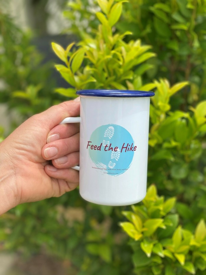Feed the Hike Enamel Mug Dinner Size (415ml)