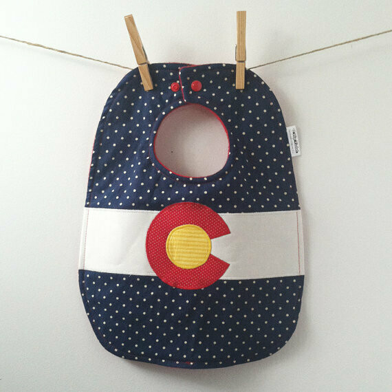 Bib - Colorado Flag