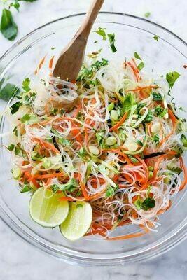 Salade asiatique de vermicelles