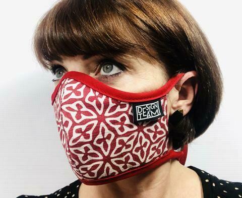 Design Team Mask - Kidney Bean