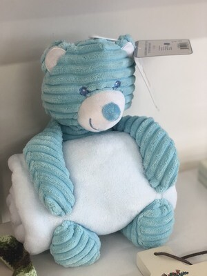 Blue Bear Blanket and toy