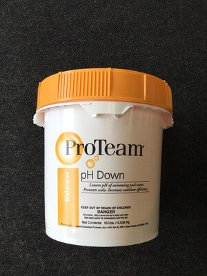 10# Ph down
