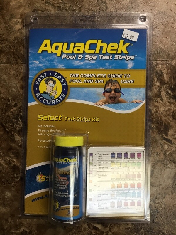 Aquachek 7 Way Test Strips