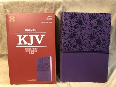 Purple Kjv Reference Bible