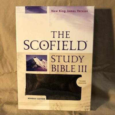 Black Nkjv Scofield Bible