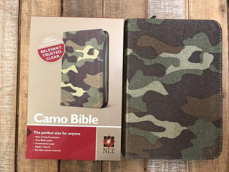 Camo Zipper Bible