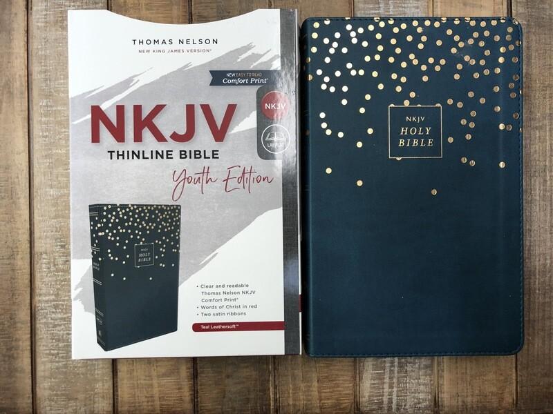 NKJV Teal Sparkle Youth Edition