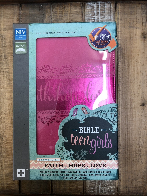 NIV Teen Girls Study Bible