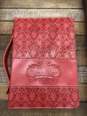 Amazing Grace Coral Bible cover