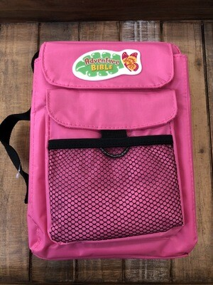 Pink Adventure Bible Cover Nylon