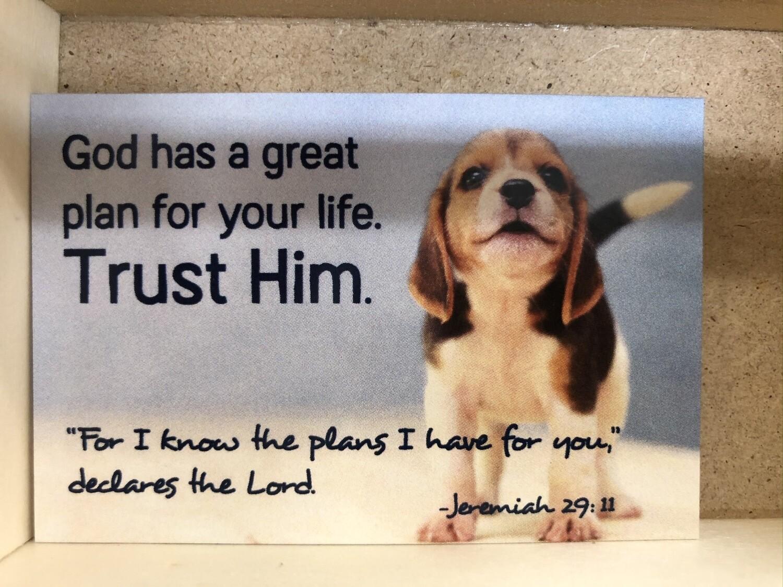 Trust Him Pass It On Cards