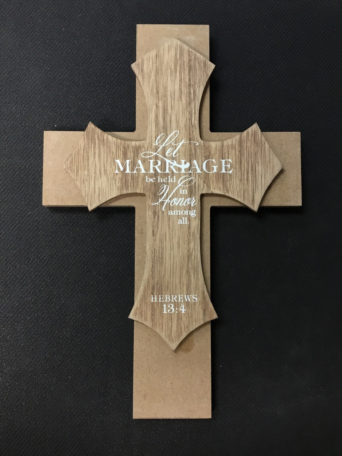 Let Marriage Be Held Wall Cross