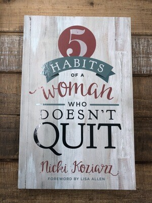 5 Habits Of A Woman That Doesn't Quit