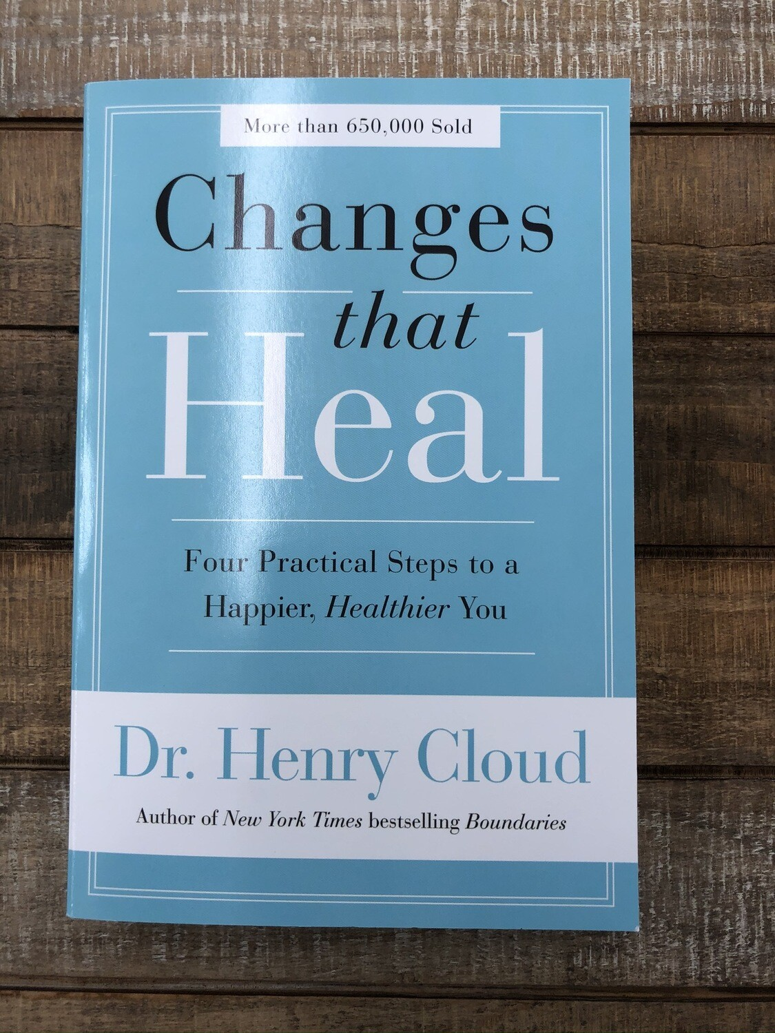 Changes That Heal Book