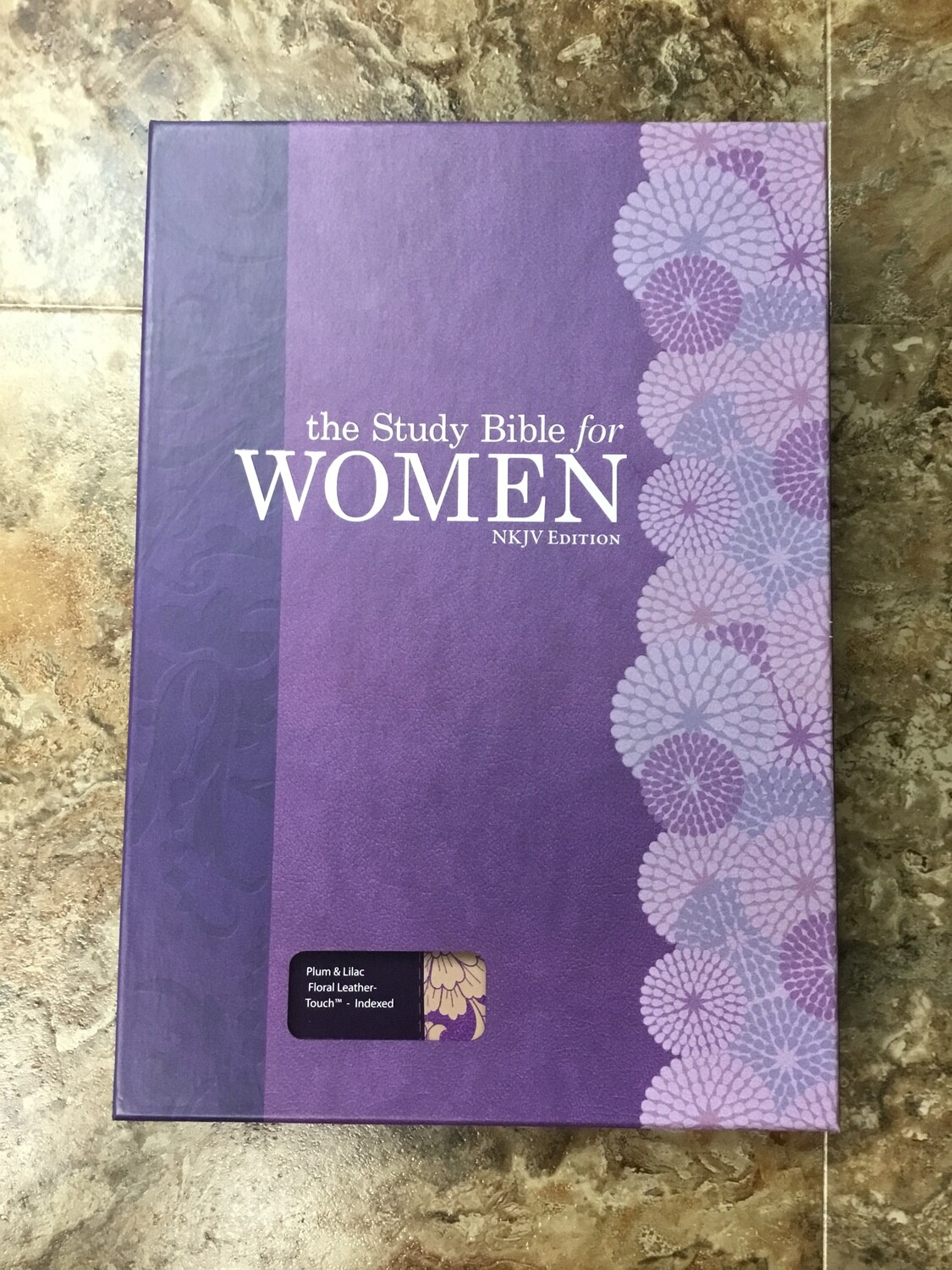 NKJV study Bible For Women Plum And Lilac Indexed