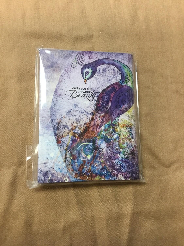 Embrace the unfading beauty purse pad peacock