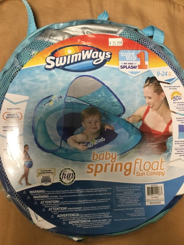 Boy Baby Spring Float
