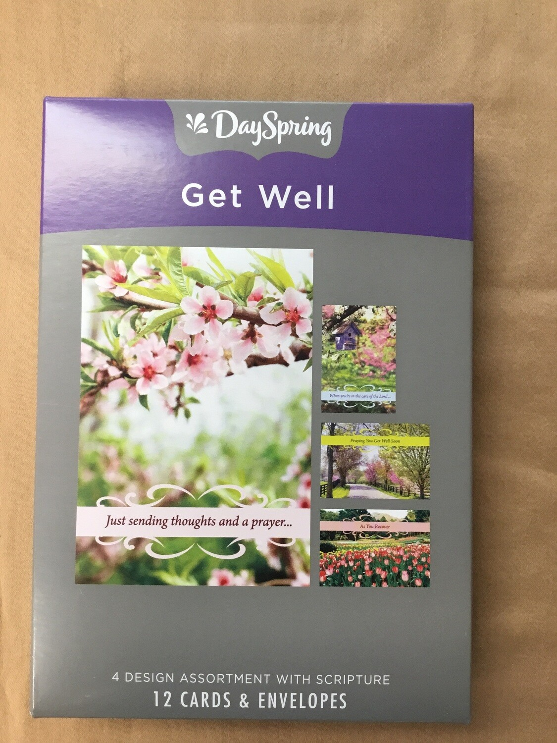 Spring time get well cards