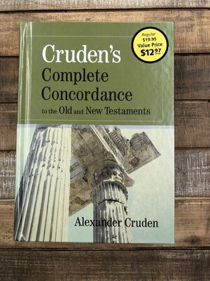 Crudens Complete Concordance