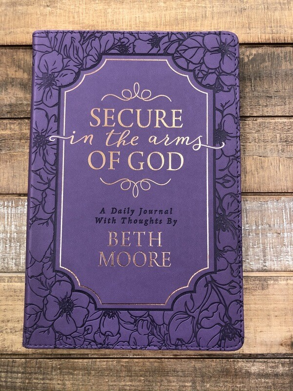 Journal Prompted Purple Secure in the Arms of God
