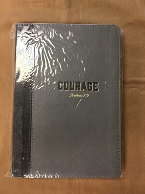 Courage Journal Grey