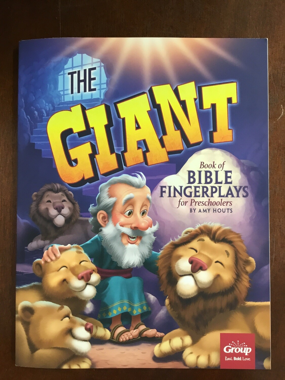 Giant Book Of Bible Fingerplays