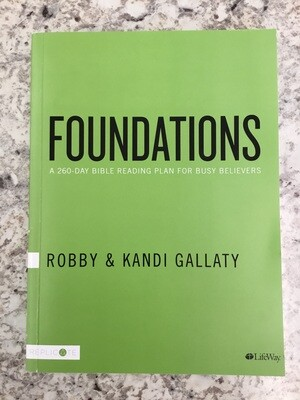 Foundations 260 Day Bible Study