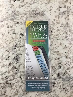 Xl Rainbow Bible Tabs