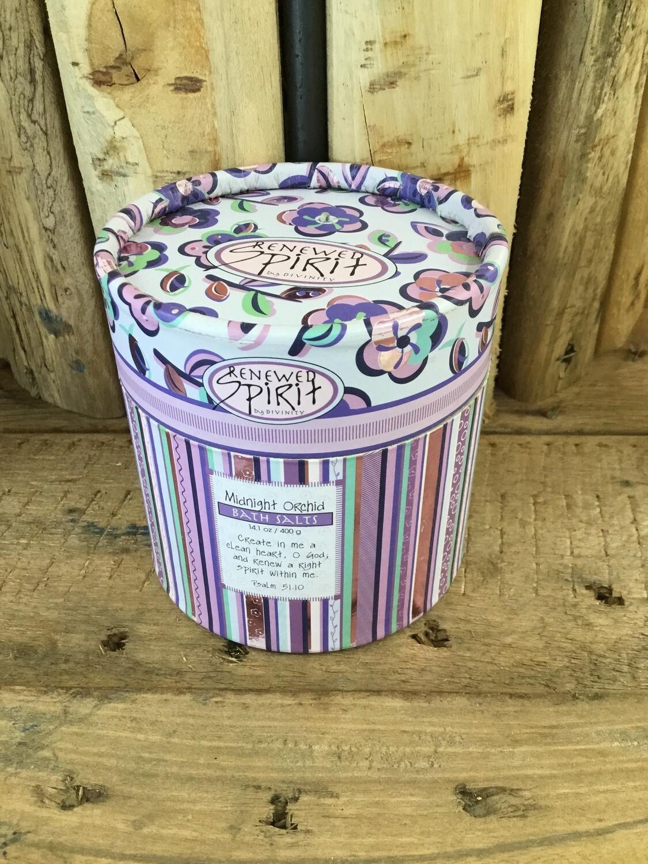 orchid bath salts