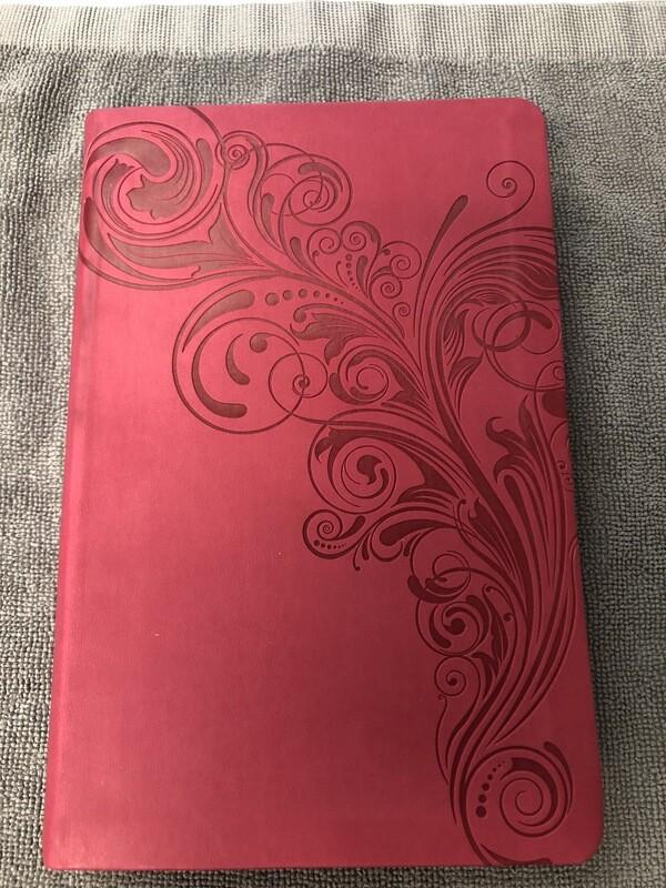 KJV Pink Leathertouch Lrg Print Indexed