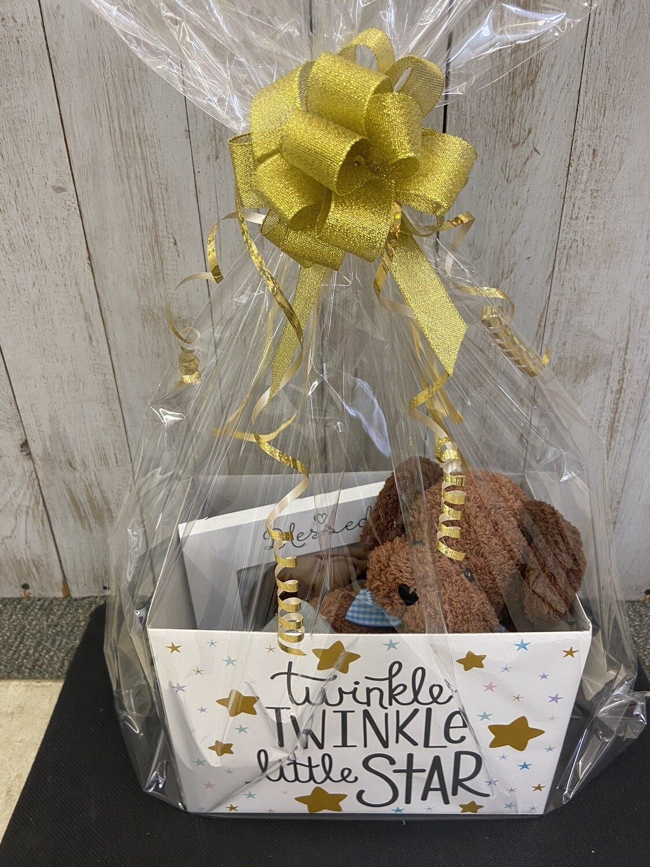 Baby Boy Puppy Gift Box
