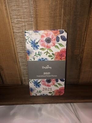 Inspirational Floral Premium Pocket Planner