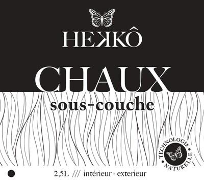 CHAUX - SOUS COUCHE VEGETALE - 2.5 Lt