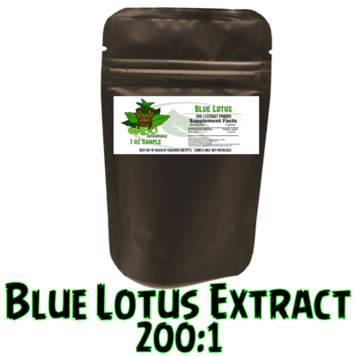 200:1 Blue Lotus Extract (1 Ounce )