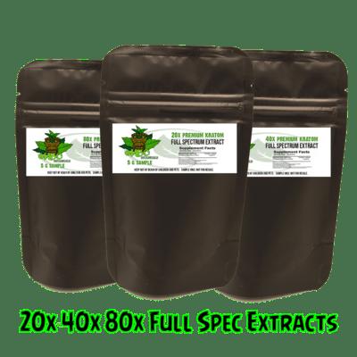 Full Spectrum Extract 20 | 40 | 80x 5g