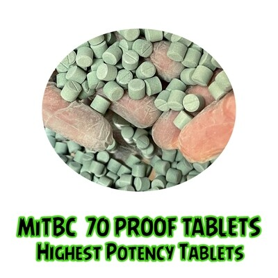 MitBC 70 Proof Extract Tablets