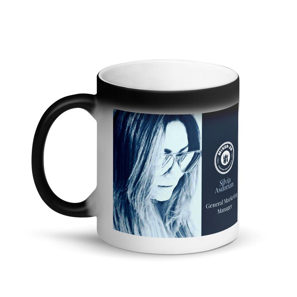 Matte Black Magic Mug