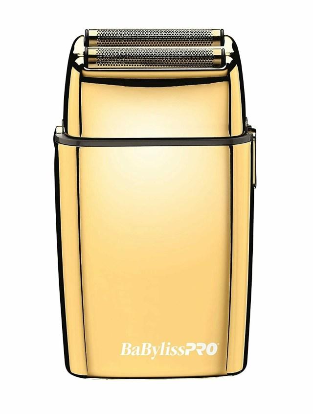 BaBylissPRO FoilFX Cord/Cordless Metal Double Foil Shaver - Gold