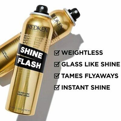 Redken Shine Flash Glass-Like Anti-Frizz Shine Spray For Hair 150ml
