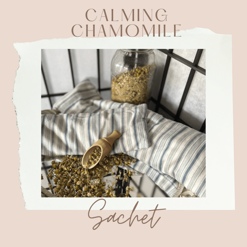 Calming Chamomile Rice Sachet Large