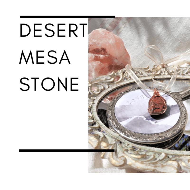 Desert Mesa Stone Pendant