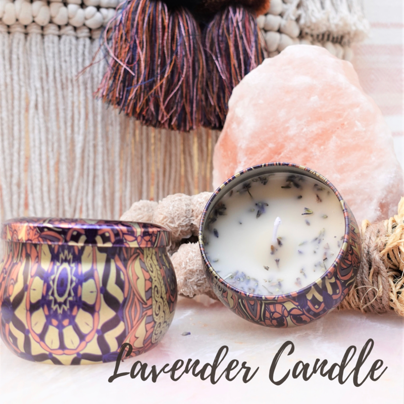 Fields of Lavender Beeswax Candle