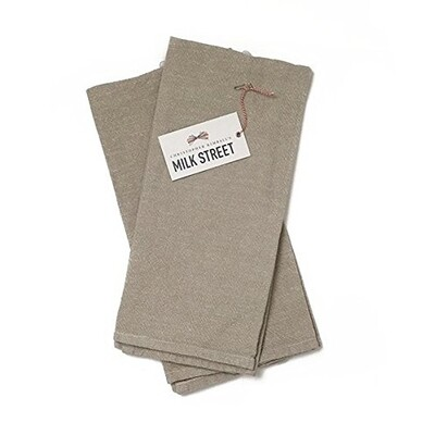 Milk Street Deluxe Linen Cotton Towel - Khaki