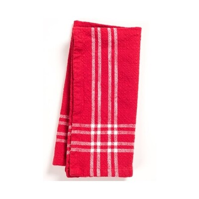 KAF Home Lyon Napkin - Red and White
