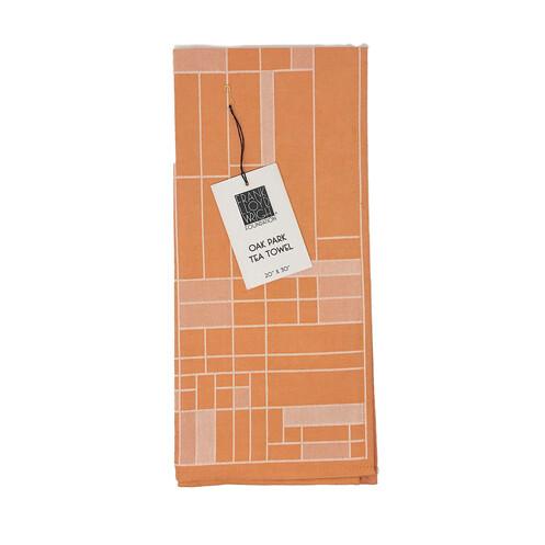 Frank Lloyd Right - Oak Park Tea Towel